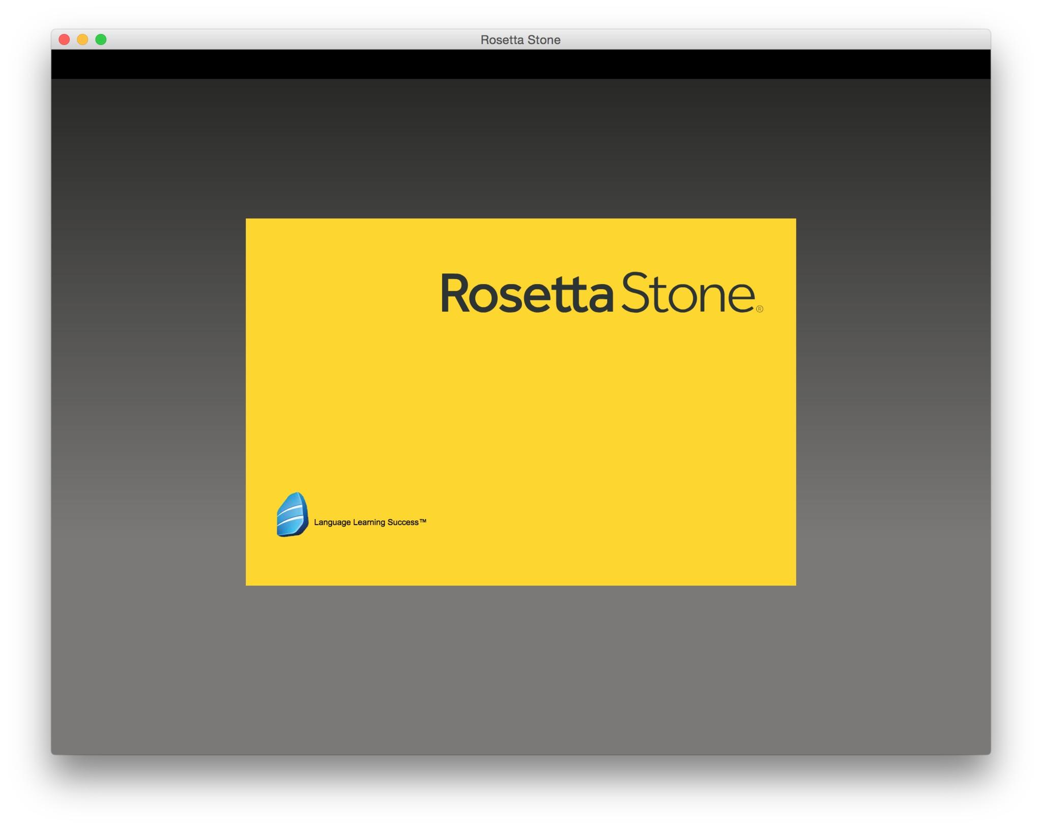 Rosetta Stone TOTALe | MAD Rosetta Stone App