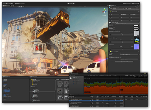 Unity 5 1 3f1 – High-end game development app  | download