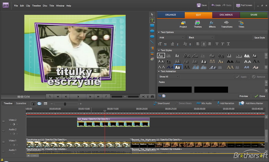 Adobe premiere elements 141 consumer video editing software screenshots ccuart Image collections