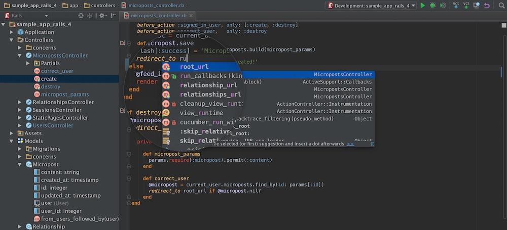Ruby On Rails Ide