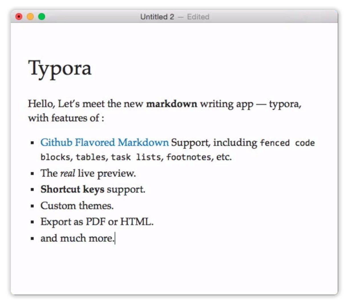 Typora 0 9 9 8 8 – Minimalist Markdown editor (beta