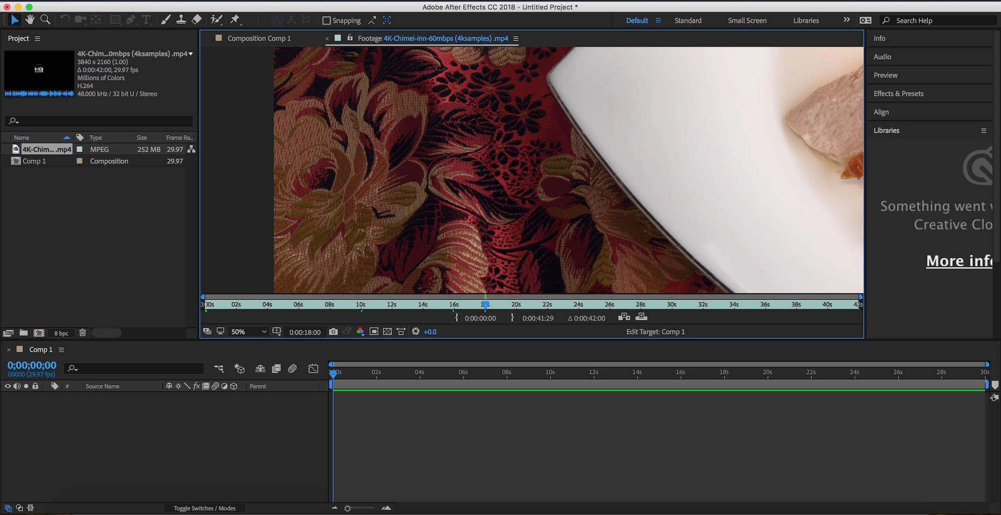 Adobe After Effects 2020 for Mac v17.1.2 中文和谐版下载 AE视频处理软件 Adobe系列 第2张