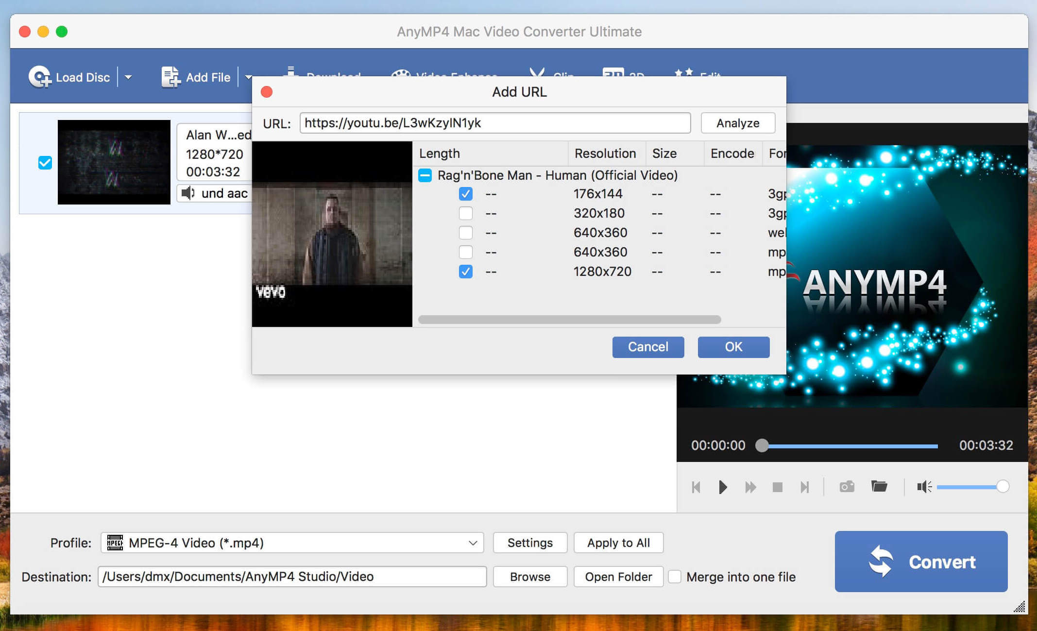 AnyMP4 Mac Video Converter Ultimate 8 2 16 | macOS Apps