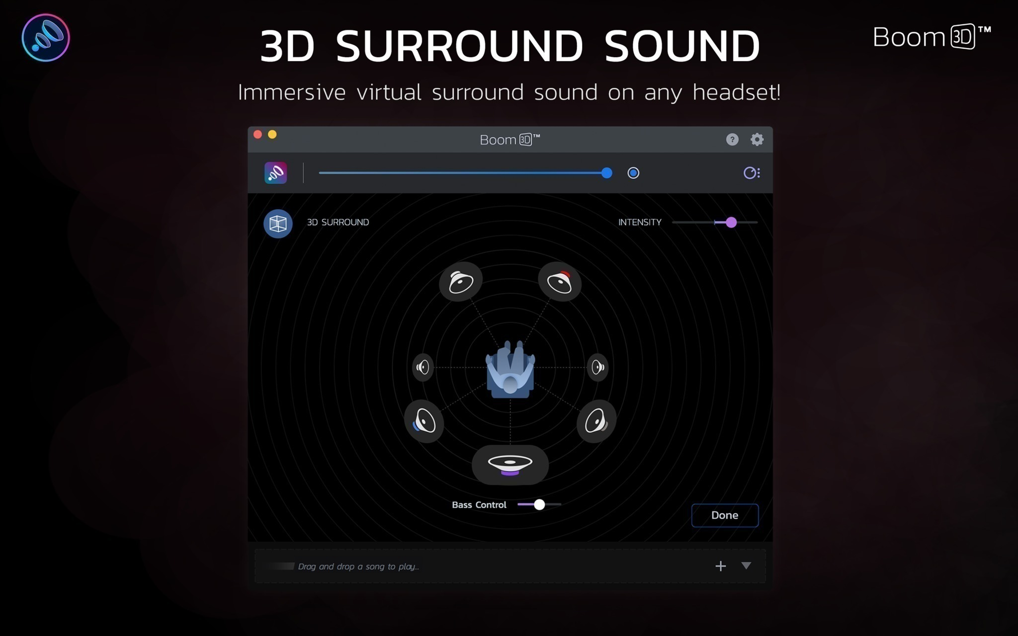 Boom 3D 1 2 1 – 3D surround sound and phenomenally rich