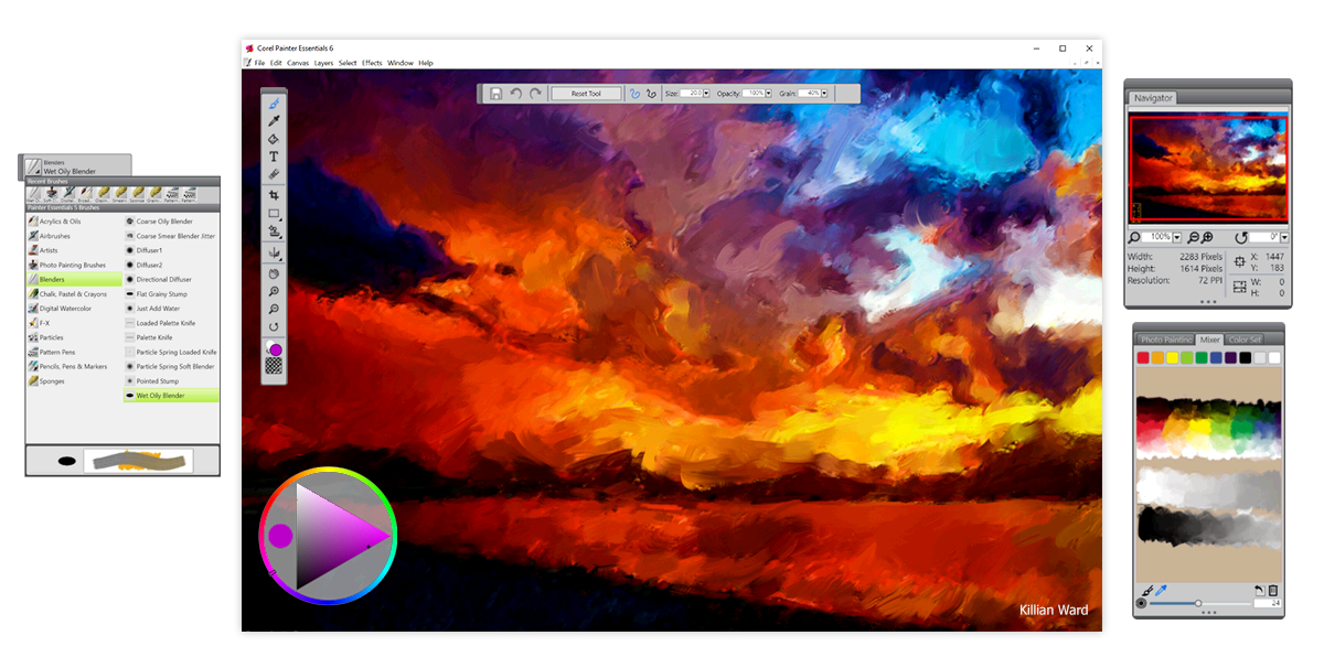 How To Use Corel Painter