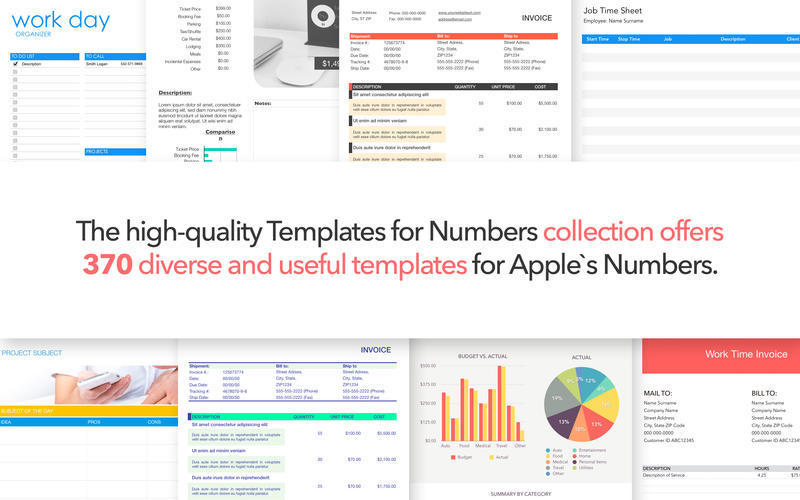 Design For Numbers Templates 501 Spreadsheet Templates For Apple