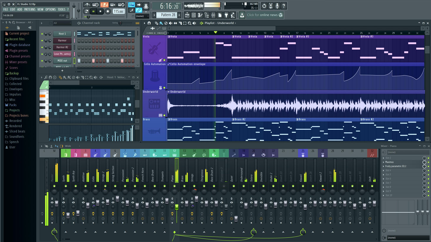 Fl Studio 124 A Complete Software Music Production Environment Or