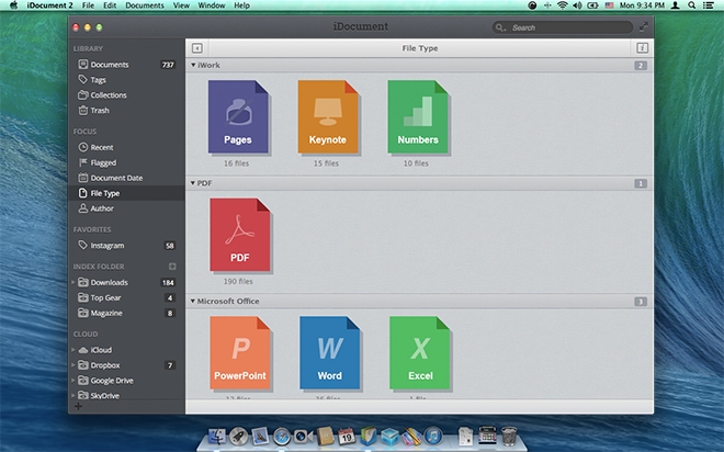 idocument 200 organize tag and search your documents With document organizer software mac