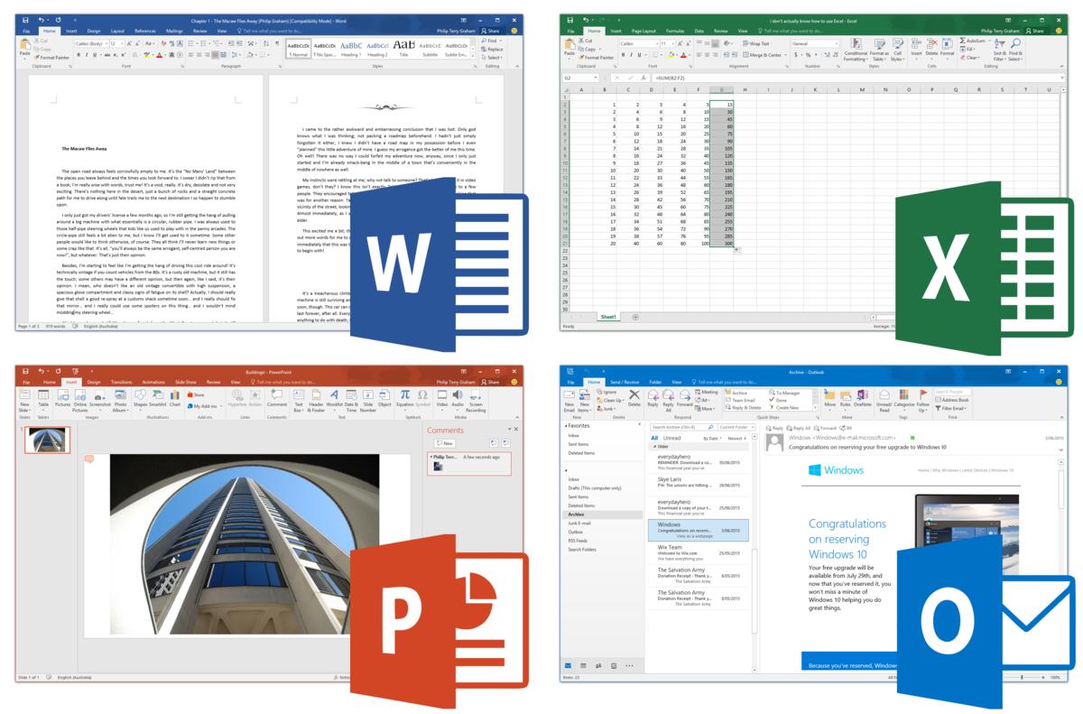microsoft office version 15.13.3