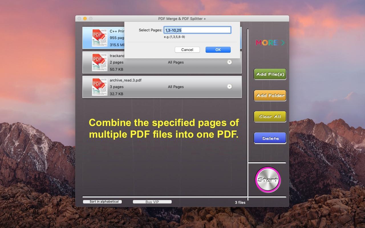PDF Merge & PDF Splitter + 6.2.5 download free | macOS ...