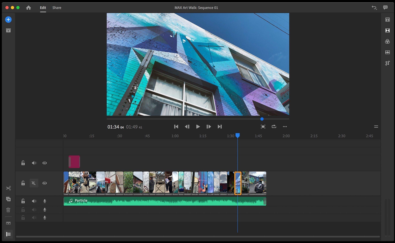 Adobe Premiere Rush CC 2019 1 2   download  AppKed