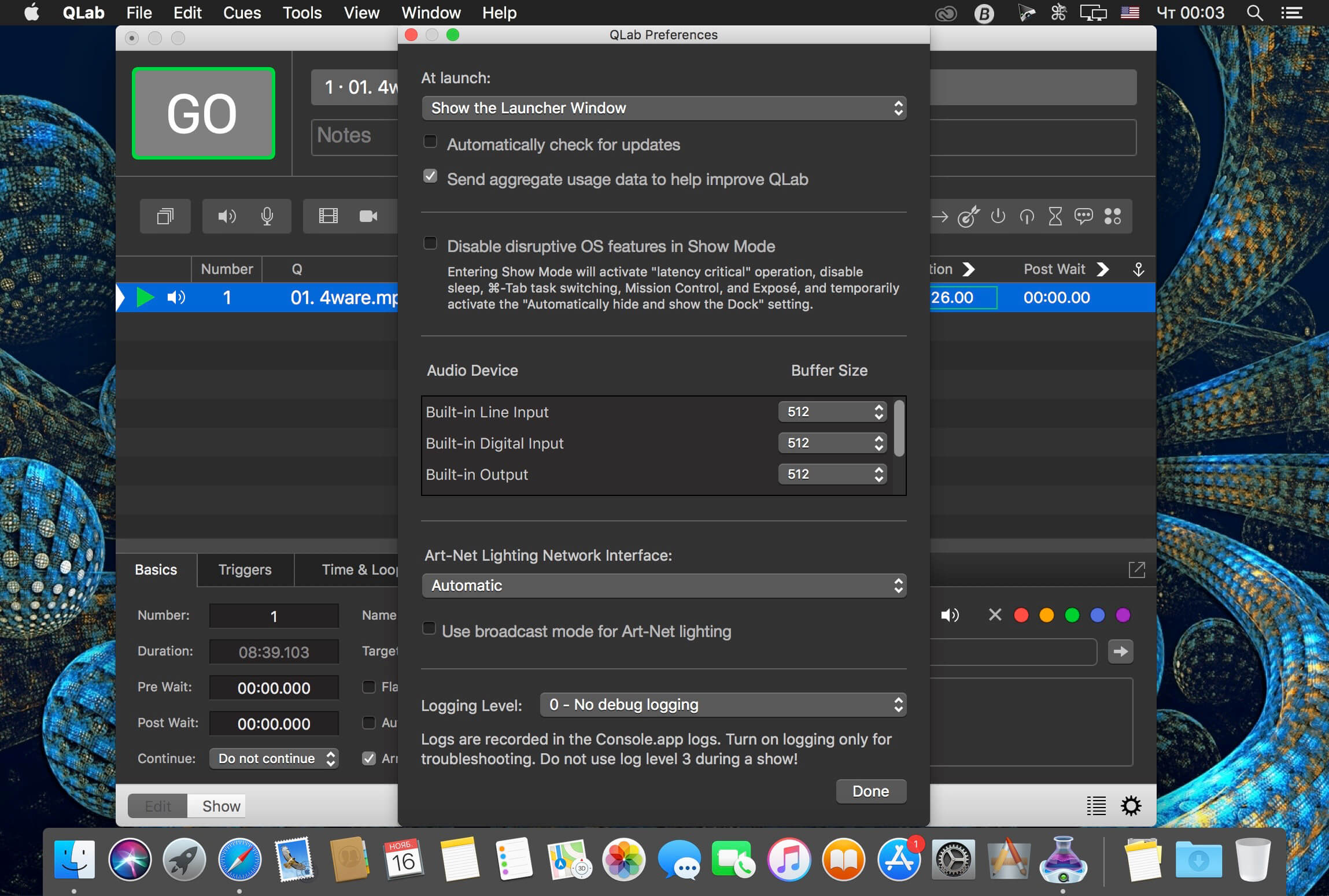QLab 4 1 1 – Create media sequences for live shows  | download |AppKed