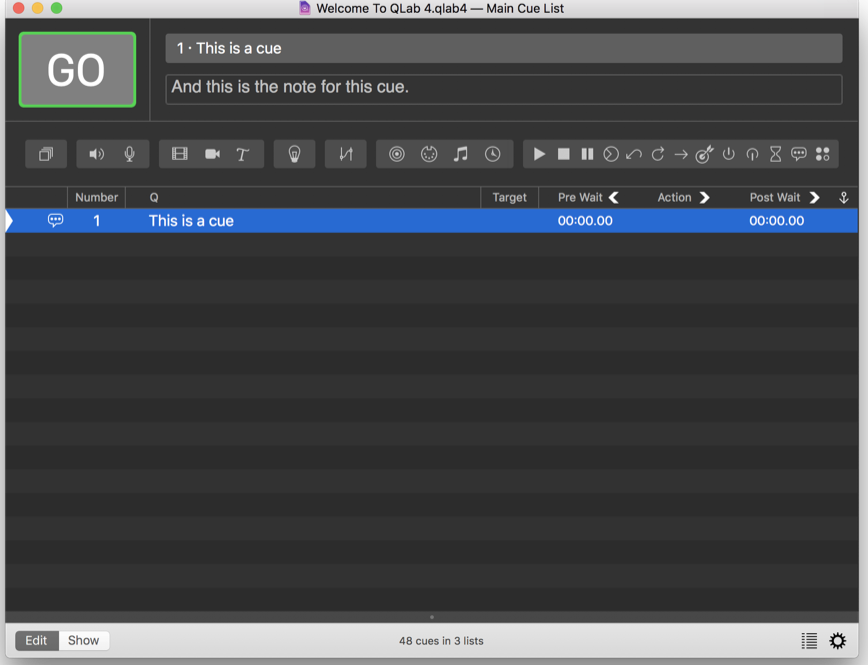 QLab Pro 4 1 6 – Create media sequences for live shows