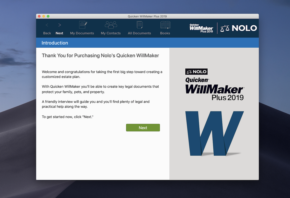Quicken WillMaker Plus 2019 19 5 2429 | download |AppKed