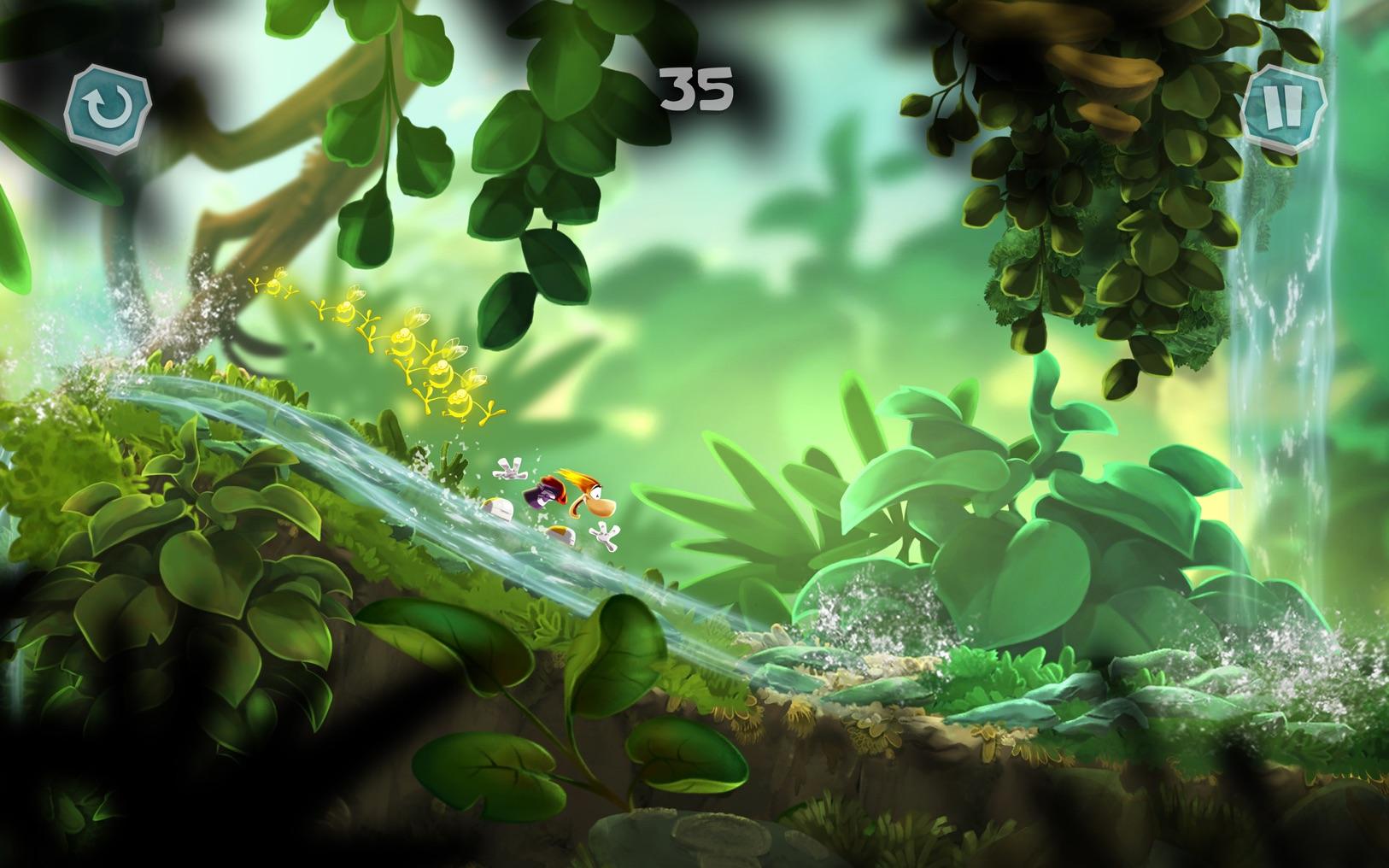 雷曼:迷你 Rayman Mini 1.11 Mac 破解版 人气动作跑酷类游戏-麦氪搜(iMacso.com)