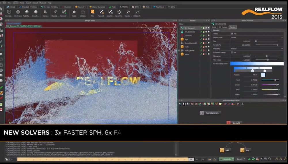 RealFlow 10 0 – an industry-standard, out-of-the-box fluid
