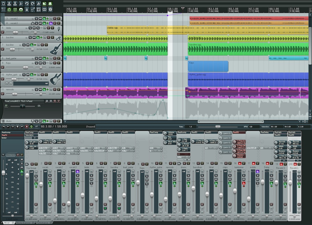 Cockos Reaper 5 91 – Digital audio workstation    download