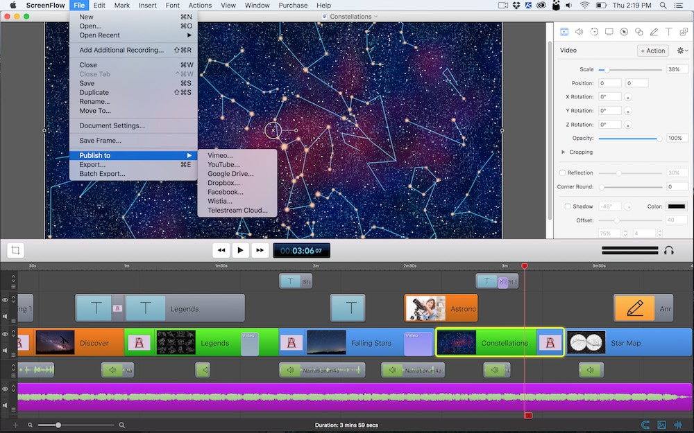 ScreenFlow 7.2 – Create screen recordings. | macOS Apps | Mac Games ...