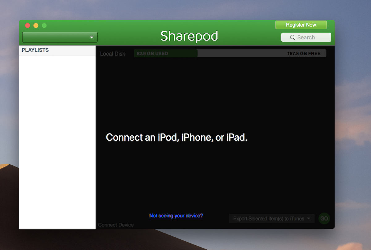 Sharepod 4 0 4 0 – Transfer music and playlists from iPhone, iPod