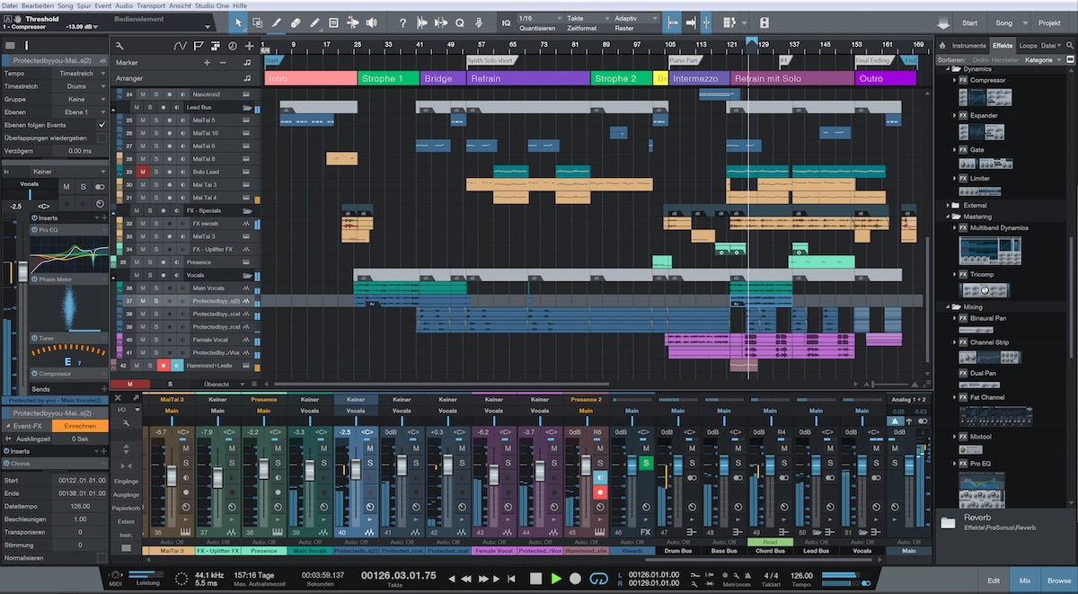 Studio one 311 music creation and production suite macos apps screenshots baditri Gallery