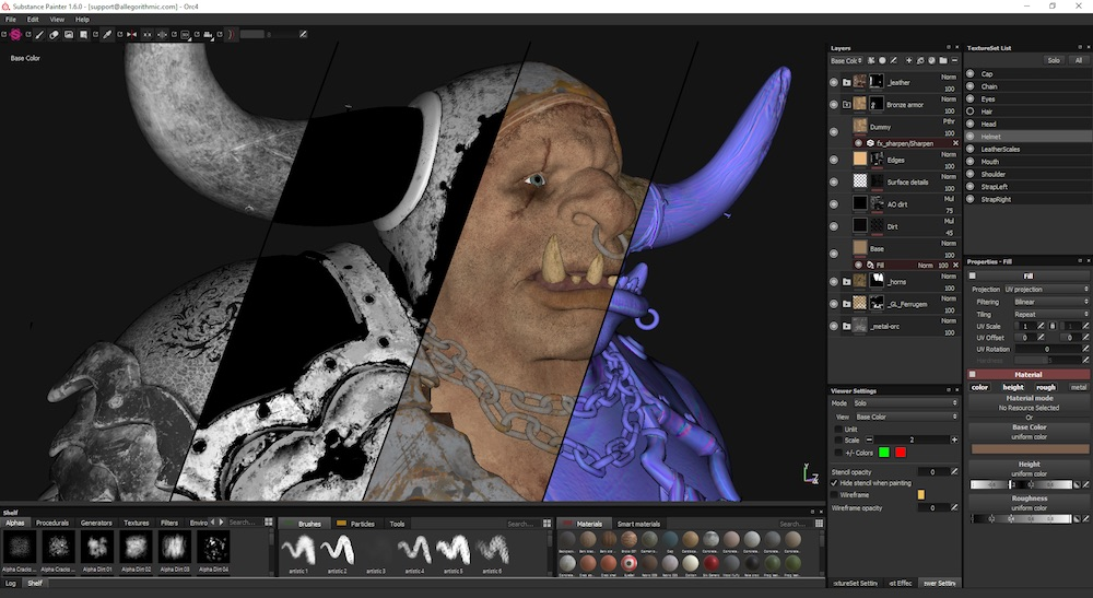 substance painter 2.6 system requirements