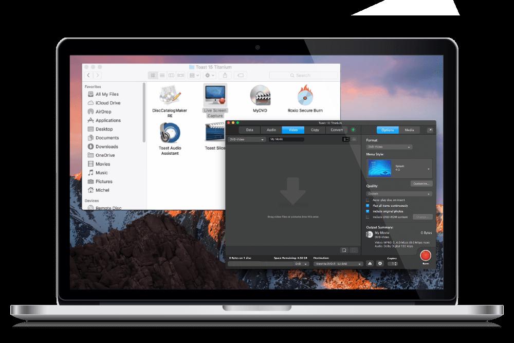 Toast titanium 17. 2 – the ultimate media toolkit.   macos apps.